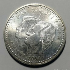 Monedas Juan Carlos I: 2004. ESPAÑA. 12 EURO PLATA. S.C. FELIPE Y LETIZIA.. Lote 275165633