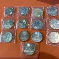 Monedas Juan Carlos I: LOTE DE 13 MONEDAS DE PLATA ESPAÑOLA DE 2000 PESETAS. Lote 275852558
