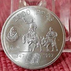 Monedas Juan Carlos I: MONEDA DE 2000 PESETAS, DE PLATA DE 1997 S/C. Lote 276743653