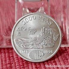 Monedas Juan Carlos I: MONEDA DE 2000 PESETAS DE PLATA DE 1996 S/C. Lote 276743918