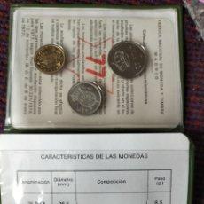 Monedas Juan Carlos I: PRUEBAS NUMISMÁTICA PESETAS 1977. Lote 277257963