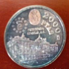 Monedas Juan Carlos I: MONEDA DE PLATA DE 2000 PESETAS 1995. Lote 277503203