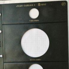 Monedas Juan Carlos I: HOJA MONEDAS PARDO Nº 46. OLIMPIADA BARCELONA 1992. AÑO 1991. SIN MONEDAS Y SIN PLÁSTICO INTERIOR.. Lote 277526403
