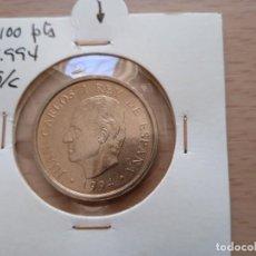 Monedas Juan Carlos I: JUAN CARLOS I. 100 PESETAS 1994. LIS ABAJO SIN CIRCULAR. (M64). Lote 277633338