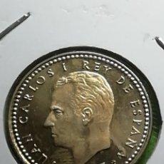 Monedas Juan Carlos I: UNA PESETA DE 1975. ESTRELLA 77. SIN CIRCULAR. Lote 281832828