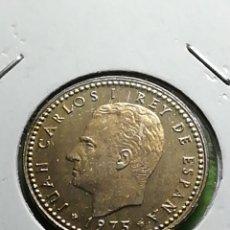 Monedas Juan Carlos I: UNA PESETA DE 1975 ESTRELLA 77... Lote 281833098