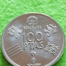 Monedas Juan Carlos I: 100 PESETAS DE 1980 ESTRELLA 80 SIN CIRCULAR. DEL MUNDIAL DE FÚTBOL BARCELONA 82.. Lote 283209833