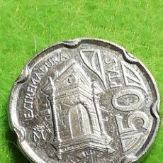 Monedas Juan Carlos I: 50 PESETAS DE 1993. EXTREMADURA BIEN CONSERVADA.. Lote 283213378