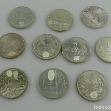 Monedas Juan Carlos I: COLECCIÓN LOTE DE 10 MONEDAS DE 2000 PESETAS DE PLATA. Lote 285407103