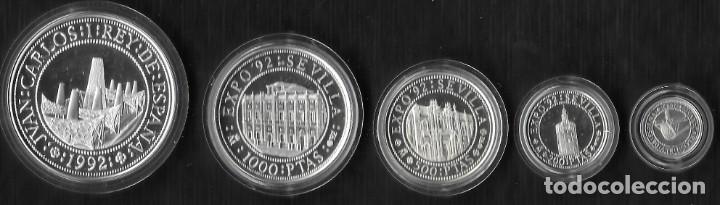 Monedas Juan Carlos I: ESPAÑA. IV SERIE QUINTO CENTENARIO DESCUBRIMIENTO DE AMERICA. PLATA - Foto 2 - 287676428
