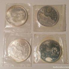 Monedas Juan Carlos I: LOTE 4 MONEDAS 2000 PESETAS PLATA ¡NUEVAS! ¡GRAN OPORTUNIDAD!. Lote 287804378
