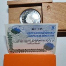 Monedas Juan Carlos I: 1000 PESETAS MUNDIAL 98. Lote 287978318