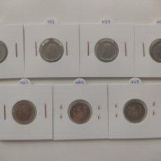 Monedas Juan Carlos I: LOTE MONEDAS 10 PESETAS 1983, 1984, 1985, 1992, 1998, 1999, 2000. Lote 288542423
