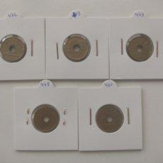 Monedas Juan Carlos I: LOTE MONEDAS 25 PESETAS 1993, 1994, 1995, 1996, 1997. Lote 288544428