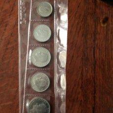 Monedas Juan Carlos I: ESPAÑA TIRA 1984 SC 1+2+5+10+25+50 ESCASAS PESETAS SC JUAN CARLOS I. Lote 288608093