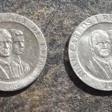 Monedas Juan Carlos I: 2 MONEDAS DE 200 PESETAS AÑOS 1990 1991 SC VER FOTOS. Lote 288948033