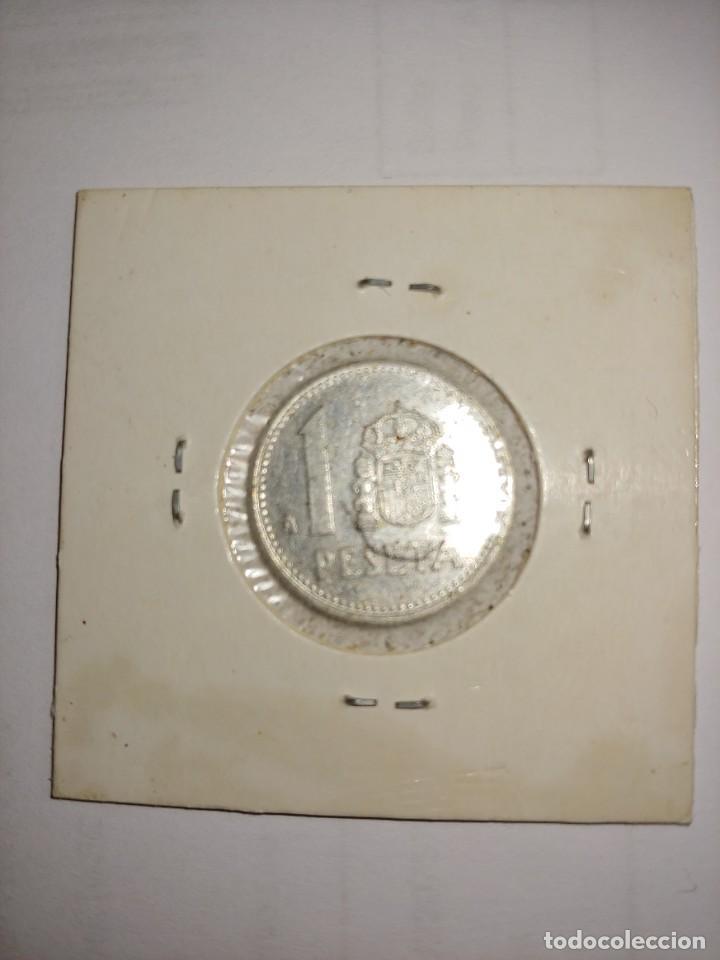 Monedas Juan Carlos I: MONEDA DE JUAN CARLOS I 1 PESETA DEL AÑO 1989 - Foto 2 - 288954403