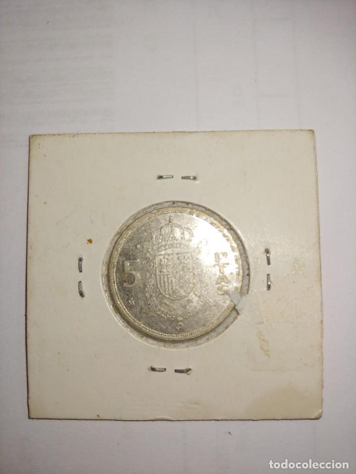 Monedas Juan Carlos I: MONEDA DE JUAN CARLOS I 5 PESETAS DEL AÑO 1983 - Foto 2 - 288959083