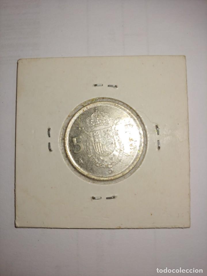 Monedas Juan Carlos I: MONEDA DE JUAN CARLOS I 5 PESETAS DEL AÑO 1984 - Foto 2 - 288959198