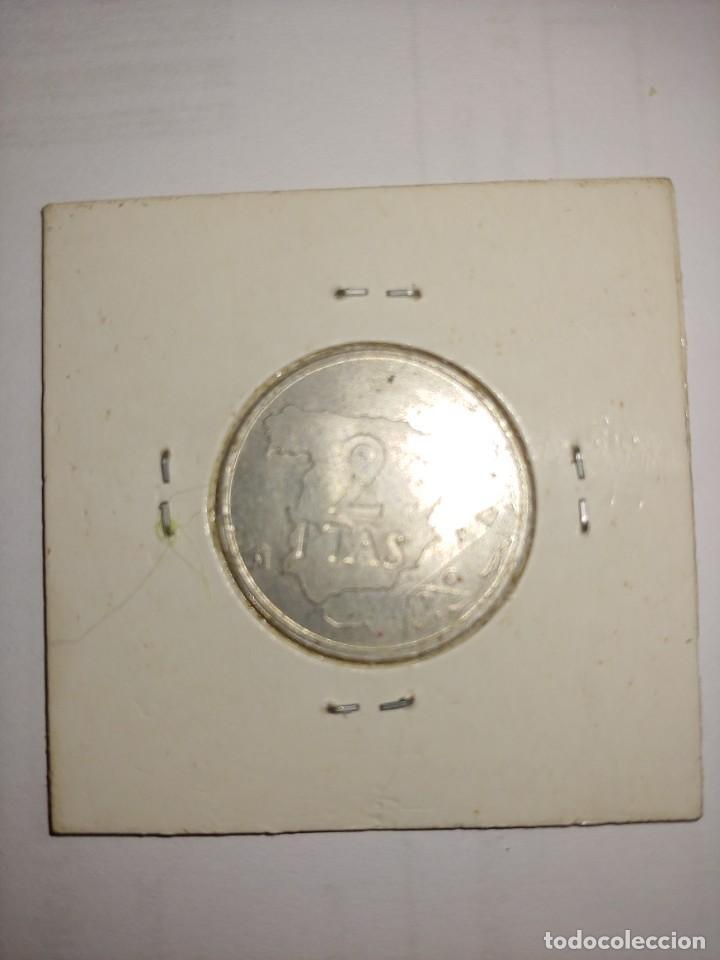 Monedas Juan Carlos I: MONEDA DE JUAN CARLOS I 2 PESETAS DEL AÑO 1982 - Foto 2 - 288959643