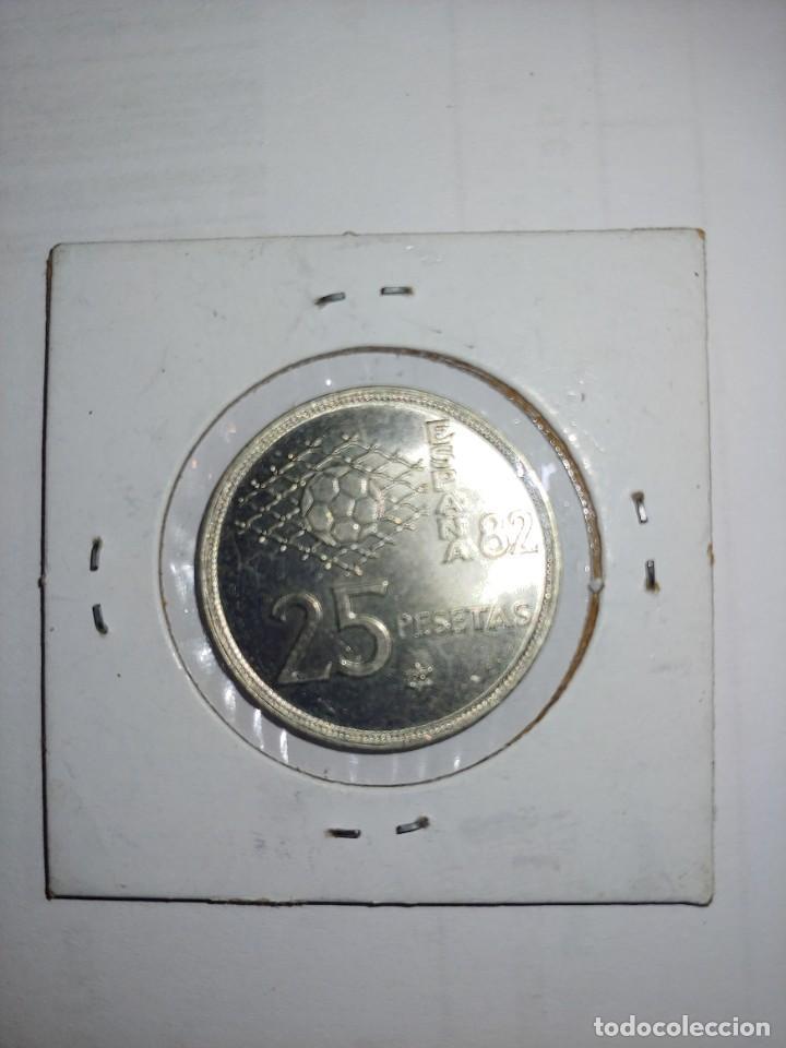 Monedas Juan Carlos I: MONEDA DE JUAN CARLOS I 25 PESETAS DEL AÑO 1980 ESTRELLA 80 - Foto 2 - 288960538