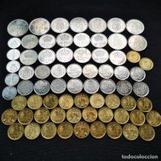 Monedas Juan Carlos I: ⚜️ A2358. PIEZAS TOP DE 1975 *76 *77 *78 *79 *80 Y 1980 *80 *81 *82. 0,42KG. Lote 289849128