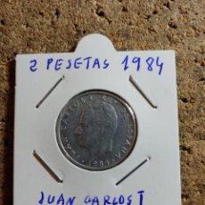 Monedas Juan Carlos I: MONEDA DE JUAN CARLOS I 2 PESETAS DEL AÑO 1984. Lote 289855993