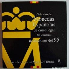Monedas Juan Carlos I: CARTERA OFICIAL FNMT ESPAÑA 1995 - PESETAS - JUAN CARLOS I. SC. LOTE 3902. Lote 290346553