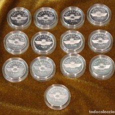 Monedas Juan Carlos I: ESPAÑA, 1997, TRECE MONEDAS CONMEMORATIVAS 1 EURO, HOMENAJE A LA AVIACIÓN, PLATA, SIN CIRCULAR. Lote 292157663