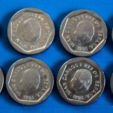 Monedas Juan Carlos I: LOTE 18 MONEDAS DE 200 PTAS 8 DE 1986 Y 10 DE 1988, JUAN CARLOS, EN PERFECTO ESTADO. Lote 292346883