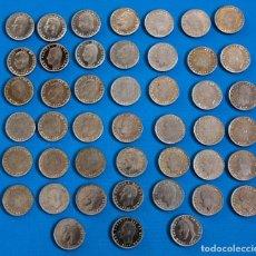 Monedas Juan Carlos I: LOTE 45 MONEDAS DE 25 PTAS, DE 1984, JUAN CARLOS, EN PERFECTO ESTADO. Lote 292351678