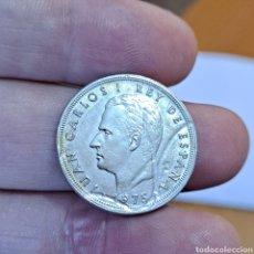 Monedas Juan Carlos I: 5 PESETAS JUAN CARLOS I, DEFECTO, 1975, * 77, VER. Lote 293463308