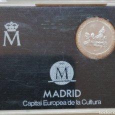 Monedas Juan Carlos I: JUAN CARLOS I MADRID CAPITAL CUÑLTURAL 200 PESETAS PLAZA DE CIBELES PLATA. Lote 293886643