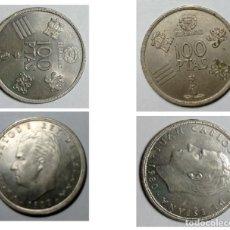 Monedas Juan Carlos I: 2 MONEDAS 100 PTAS. JUAN CARLOS I - 1980. Lote 294039103