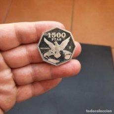 Monedas Juan Carlos I: MONEDA DE 1500 PESETAS DEL AÑO 2000,MILENIO DE LA PAZ (DE PLATA) S/C. Lote 295718923