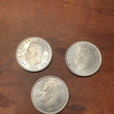 Monedas Juan Carlos I: 3 MONEDAS 100 PESETAS REY JUAN CARLOS I 1980. Lote 295985168