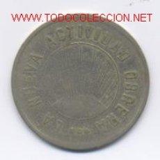 Monedas locales: LA NUEVA ACTIVIDAD OBRERA- 2 PESETAS. Lote 952122