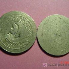 Monedas locales: 1838 FICHA COOPERATIVA CASINO TOKEN PRINCIPIOS SIGLO XX COSAS&CURIOSAS. Lote 31620784