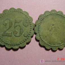 Monedas locales: 1841 FICHA COOPERATIVA CASINO TOKEN PRINCIPIOS SIGLO XX COSAS&CURIOSAS. Lote 13738078