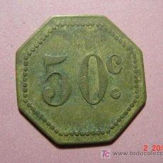 Monedas locales: 1843 FICHA COOPERATIVA CASINO TOKEN PRINCIPIOS SIGLO XX COSAS&CURIOSAS. Lote 6280128