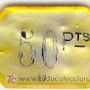 Monedas locales: (FC-777)FICHA 50 PTS.CASINO PRINCIPIOS DE SIGLO DE NACAR. Lote 4259267