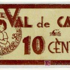 Monedas locales: (FC-887)VALE 10 CTS.GRANJA ROYAL BARCELONA-GUERRA CIVIL. Lote 4995757
