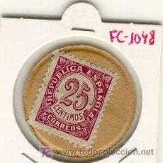 Monedas locales: (FC-1048)VALE 25 CTS.REPUBLICA ESPAÑOLA. Lote 5444716