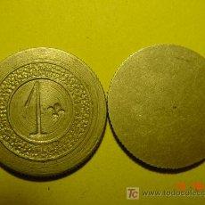 Monedas locales: 2179 CASINO COOPERATIVA FICHA DINERARIA TOKEN - 1 PESETA AÑOS 1910/20 - MAS EN COSAS&CURIOSAS. Lote 31620786