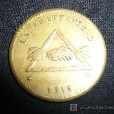 Monedas locales: FICHA COOPERATIVA LA FRATERNIDAD BARCELONA. Lote 7871955