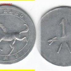 Monedas locales: FICHA: HARINO PANADERA 1 KG. BILBAO. Lote 26557609