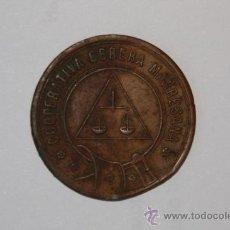 Monedas locales: COOPERATIVA OBRERA MANRESANA MANRESA ESCASA 1 PESETA. Lote 10815540