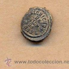 Monedas locales: MONEDA 44 - RARO SELLO CARNES REVISADAS SALCHICHÓN ABEL - SELLO ANTIGUO EMBUTIDOS. Lote 25101415