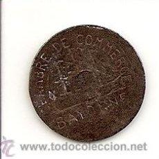 Monnaies locales: FICHA COOPERATIVA DE COMERCIO DE BAYONNE- 5CTS. 1922 MUY ESCASA Y BUENA CONSERVACIÓN.. Lote 21340076