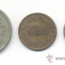 Monedas locales: FICHAS MONEDAS. Lote 27457466